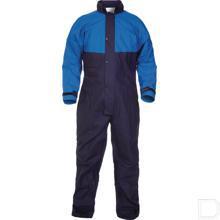 Spuitoverall maat 62 / 3XL blauw/marineblauw productfoto