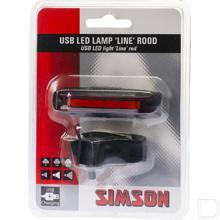 Achterlicht Line USB Led productfoto