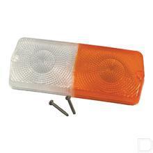 Lampglas rechthoek passend voor knipper- en breedtelicht 03225000; 03226000; 03188000; 03189000 productfoto