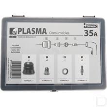 Doos met onderdelen voor plasmasnijder 31FV productfoto