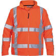 Softshell jack oranje RWS maat M productfoto