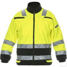 Fleecejas Torgau Trendy Hi-Vis geel/zwart maat 2XL productfoto