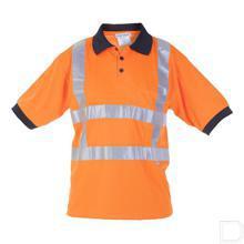 Poloshirt Tilburg RWS oranje maat 52/54 / L productfoto