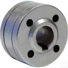 Draadgeleiderol Ø0,8 / 1,0mm staal productfoto