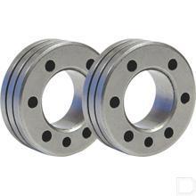 Aanvoerrol voor MIG type C Ø1,2 /1,6mm aluminium 2 stuks productfoto