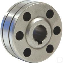 Aanvoerrol type B Ø0,8 / 1mm aluminium  productfoto