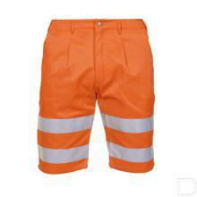Korte werkbroek Aden oranje RWS 50 productfoto