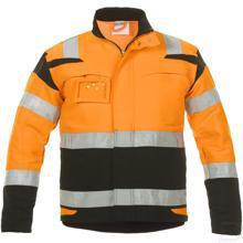 Zomerjas Harwich Trendy Hi-Vis oranje/zwart maat 44 productfoto