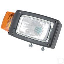 Koplamp met knipperlicht aan de zijkant rechts rechthoek opbouw staand productfoto