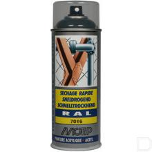 Spuitbus kunstharslak acryl RAL7016 antraciet grijs 400ml productfoto