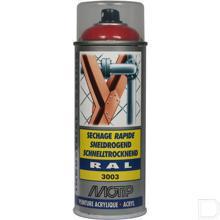 Spuitbus kunstharslak acryl RAL3003 robijnrood 400ml productfoto