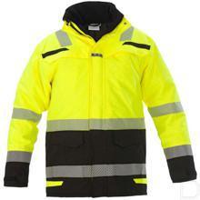 Winterparka Uddel RS-lijn Hi-Vis geel/zwart maat XL productfoto