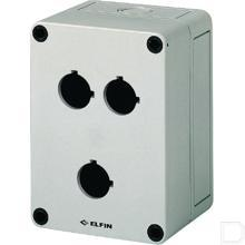 Drukknopkast 3gaten 22mm H=81mm  productfoto