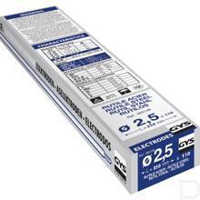 Elektroden rutiel Ø2,5mm 350mm lang 110stuks productfoto