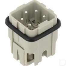 Penconnector A 4P schroefklem productfoto