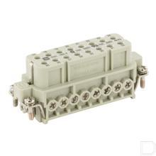 Busconnector A 16P schroef 17-32 productfoto