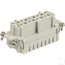 Busconnector E 16P krimpklem 1-16 productfoto