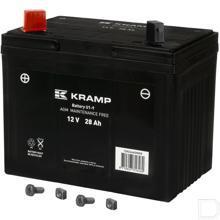 Accu 12V 28Ah 300A Gel Kramp productfoto