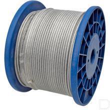 Staalkabel met PVC-mantel 2mm productfoto