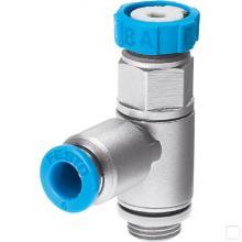 Smoorventiel met terugslagklep GRLSA-1/4-QS-8 productfoto