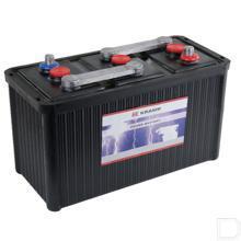 Start accu gevuld 6V 180Ah 850A 393x182x250mm bodemuitvoering B00 pooluitvoering 1 productfoto