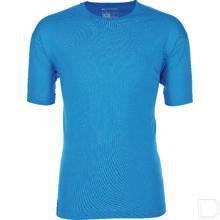 T-shirt azuurblauw M productfoto