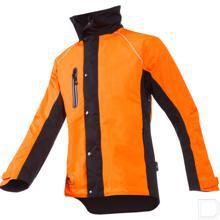Regenjas, Hi-Vis oranje/zwart, M productfoto