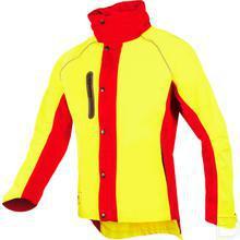 Regenjas, Hi-Vis geel/rood, 3XL productfoto