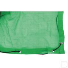 Aanhangwagennet fijnmazig 2,5x4m groen productfoto