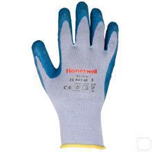 Handschoen DexGrip katoen maat 10 / XL grijs / blauw productfoto