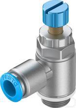 Smoorventiel met terugslagklep GRLA-3/8-QS-10-RS-D productfoto