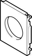 Bevestigingsplaat MS4-AEND productfoto
