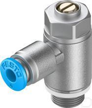 Smoorventiel met terugslagklep GRLZ-1/8-QS-4-D productfoto