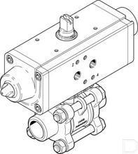 "Kogelkraan-aandrijfeenheid VZBA-3/4""-WW-63-T-22-F0304-V4V4T-PS30-R-90-4-C productfoto"