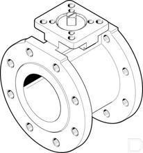 Kogelkraan VZBC-100-FF-16-22-F0710-V4V4T productfoto