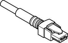 Connector met kabel NEBV-HSG2-P-2.5-N-LE2 productfoto
