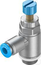 Smoorventiel met terugslagklep GRLA-1/4-QS-8-RS-D productfoto