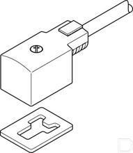 Connector met kabel KMV-1-24DC-5-LED productfoto