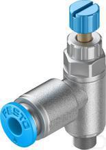 Smoorventiel met terugslagklep GRLA-M5-QS-4-RS-D productfoto