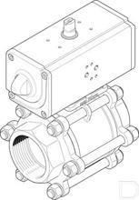 """Kogelkraan-aandrijfeenheid VZBA-4""""-GG-63-T-22-F10-V4V4T-PP240-R-90-C productfoto"""