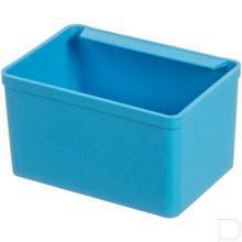 Inzetbakje D48/3 blauw 83x57x48mm productfoto