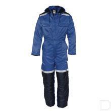 Winteroverall kobalt / marineblauw maat  48 / S productfoto
