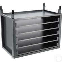 Module uittrekbare kofferplank 580x340x444mm productfoto