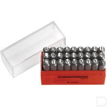 Slagletters 5mm set 27-delig productfoto