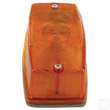 Knipperlicht rechts rechthoek opbouw voorzijde en zijkant 12V 21W productfoto