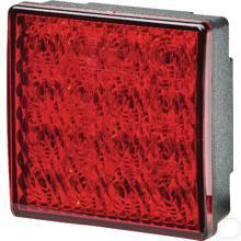 Mistachterlicht LED ValueFit vierkant 24V productfoto