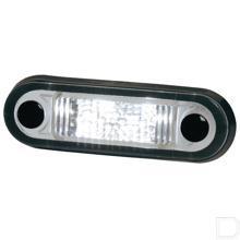 Contourverlichting LED universeel inbouw kabel 500mm 12/24V 0,5W wit licht productfoto