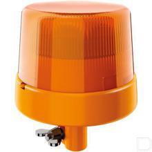 Zwaailamp LED,10W,12/24V,gele behuizing,250mm,8 LEDs,KL 7000 Hella productfoto