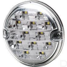 Achteruitrijlicht LED rond inbouw 12/24V productfoto