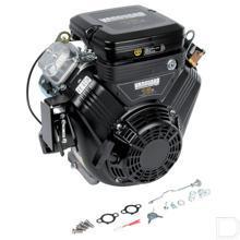 Brandstofmotor horizontale krukas 21pk 2 cilinders conisch as  productfoto